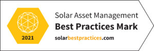 solar asset management award
