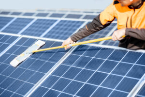 top tips for solar PV module cleaning